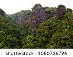 Scenery of Wuzhi Stone Scenery in Meizhou, Guangdong