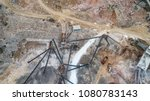 aerial view of crushed stone...   Shutterstock . vector #1080783143