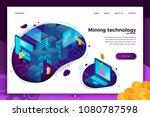 vector concept illustration   ... | Shutterstock .eps vector #1080787598