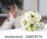 Beautiful White Wedding Bouque...