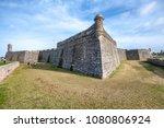 castillo san marcos  st... | Shutterstock . vector #1080806924
