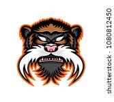 mascot icon illustration of... | Shutterstock .eps vector #1080812450