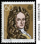berlin  germany   may 8  1980 ... | Shutterstock . vector #1080814748