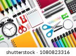 school and office supplies... | Shutterstock .eps vector #1080823316