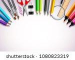back to school vector... | Shutterstock .eps vector #1080823319