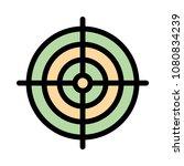 target goal focus  | Shutterstock .eps vector #1080834239