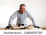 senior male and diy | Shutterstock . vector #1080835730