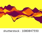 dynamic abstract background... | Shutterstock .eps vector #1080847550