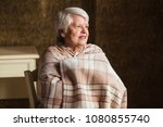 portrait of an old woman are... | Shutterstock . vector #1080855740