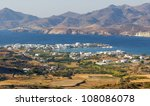 view of pollonia village  milos ... | Shutterstock . vector #108086078