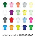 large set of t shirts | Shutterstock .eps vector #1080893243