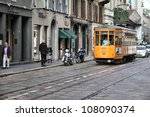 milan   october 7  historic... | Shutterstock . vector #108090374