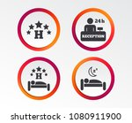 five stars hotel icons. travel... | Shutterstock .eps vector #1080911900