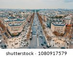 paris  france  april 9  2018 ... | Shutterstock . vector #1080917579
