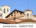 medieval and renaissance roofs. ... | Shutterstock . vector #1080917939