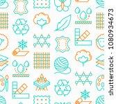 fabric feature seamless pattern ...   Shutterstock .eps vector #1080934673
