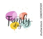 a beautiful card of happy... | Shutterstock .eps vector #1080939509