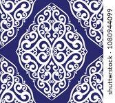 blue and white ornamental... | Shutterstock .eps vector #1080944099