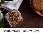 Open Jar Of Instant Coffee...