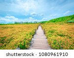 bridge in tungprongthong with... | Shutterstock . vector #1080961910