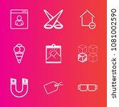 premium set with outline vector ... | Shutterstock .eps vector #1081002590
