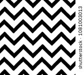 hand drawn textured zig zag... | Shutterstock .eps vector #1081003013