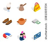 mass purchase icons set.... | Shutterstock .eps vector #1081005554