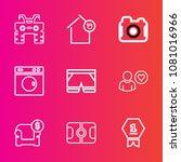 premium set with outline vector ...   Shutterstock .eps vector #1081016966