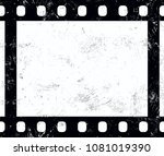 close up one frame of old... | Shutterstock .eps vector #1081019390