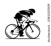 cycling race vector logo... | Shutterstock .eps vector #1081020509