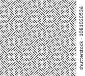 vector seamless pattern.... | Shutterstock .eps vector #1081020536