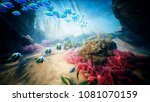 Underwater Ocean Waves And...