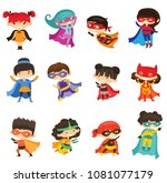 cartoon vector illustration of... | Shutterstock .eps vector #1081077179