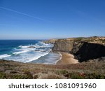 beach in vicentine coast... | Shutterstock . vector #1081091960