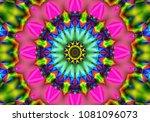 beautiful illustration. bright...   Shutterstock . vector #1081096073