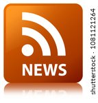 news  rss icon  isolated on...   Shutterstock . vector #1081121264
