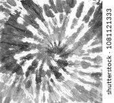 tie dye pattern. hand drawn... | Shutterstock . vector #1081121333