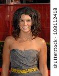 danica patrick  at the 2008... | Shutterstock . vector #108112418