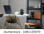 details of the interior with a... | Shutterstock . vector #1081135070