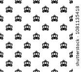 carriage pattern vector... | Shutterstock .eps vector #1081135418