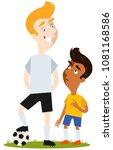 short south american cartoon... | Shutterstock .eps vector #1081168586