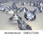 diamond jewelery | Shutterstock . vector #108117164