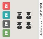 student   vector icon. symbol...