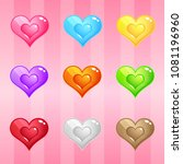 hearts candy block puzzle...