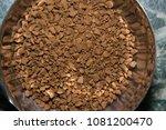 black instant coffee | Shutterstock . vector #1081200470