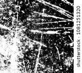 grunge mess blot background.... | Shutterstock .eps vector #1081251320