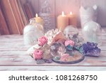 gemstones crystal minerals and... | Shutterstock . vector #1081268750