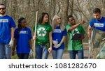 multiethnic people in group of... | Shutterstock . vector #1081282670
