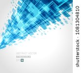 abstract background technology... | Shutterstock .eps vector #1081304810