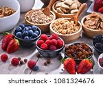 composition with different... | Shutterstock . vector #1081324676